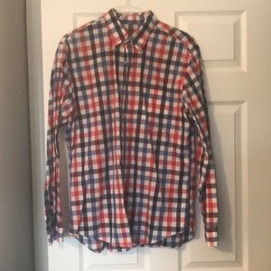 Jcrew mens Large casual shirt